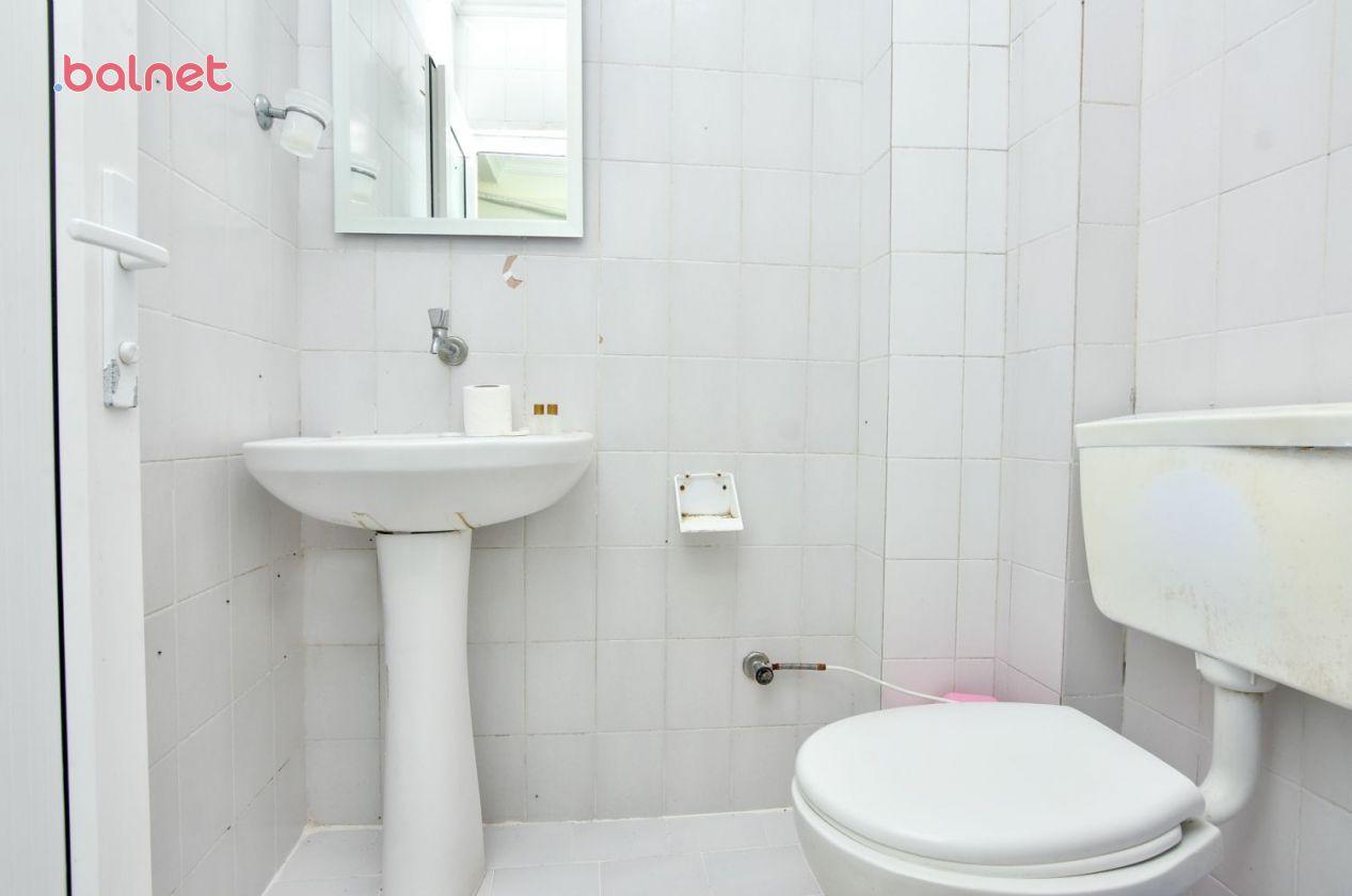 3 Kişilik Mutfaklı Odamızın Banyosu