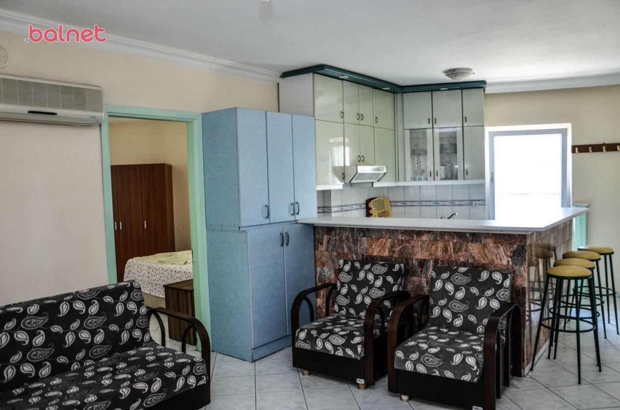 1+1 Standart Apart Dairemizin Mutfak ve Salonu