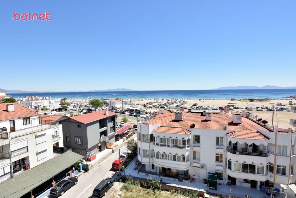 Otelimizin Deniz ve Sarımsaklı Plajı Manzarası