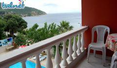Odalarımızdan Balkon Manzarası