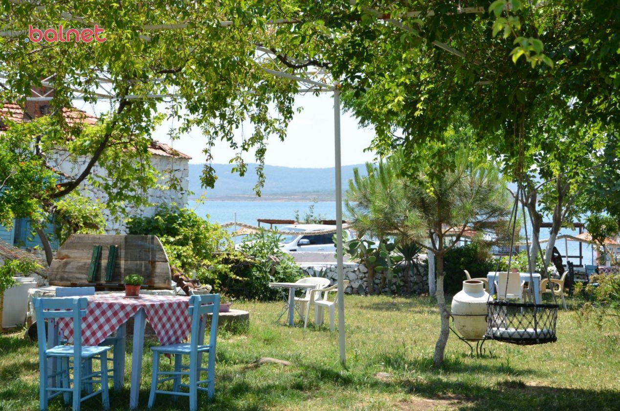Bahçemiz ve Deniz Manzarası