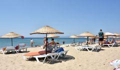 Sarımsaklı Plajında Özel Şezlonglarımız