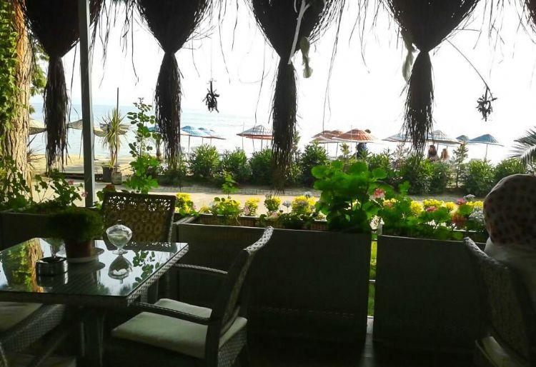 Hotelimizden Deniz Manzarası