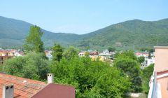 Apart Otelimizden Dağ Manzarası