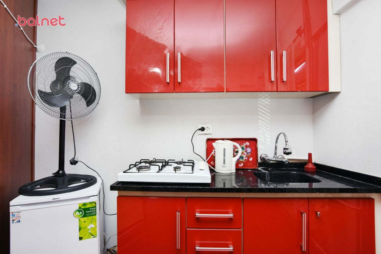 3 Numaralı Çift Kişilik Odamızın Mutfağı