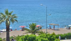 Pansiyonumuzdan Dikili Plajı