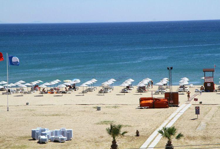 Otelimizden Salımsaklı Plajı