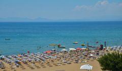 Otelimizin Terasından Sarımsaklı Plajı Manzarası