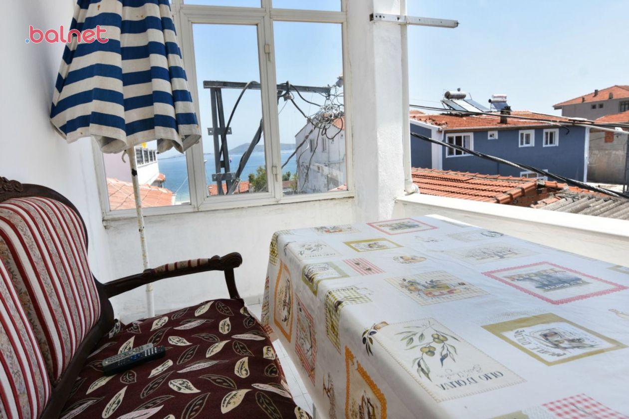 Balkondan Deniz Maznarası