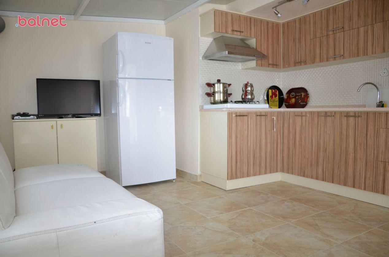 2+1 Vip Deniz Manzaralı Dairelerimiz Salon ve Mutfak