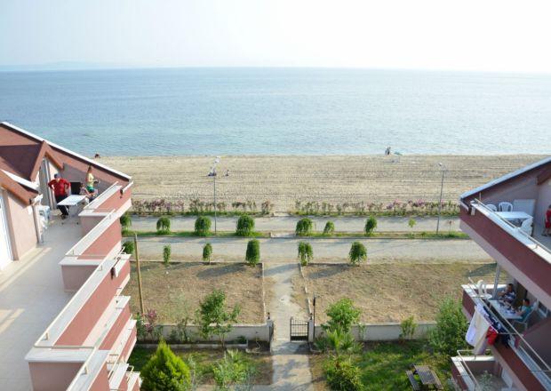 Apartımızdan Plaj ve Deniz