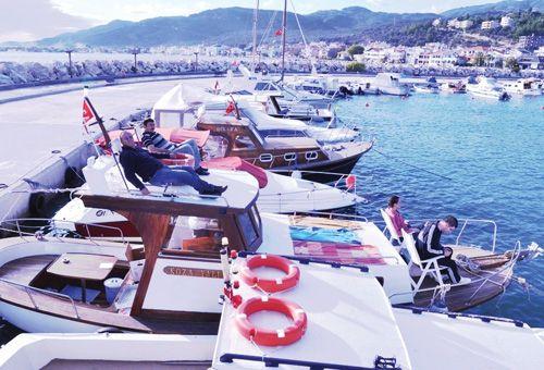 Otelimize Ait Koza Yalı Gezi Teknemiz