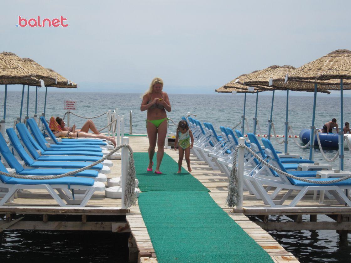 Koza Yalı Mavi Plaj İskelesi