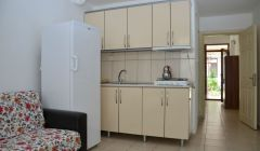 1+1 Beş Kişilik Odalarımızın Mutfağı