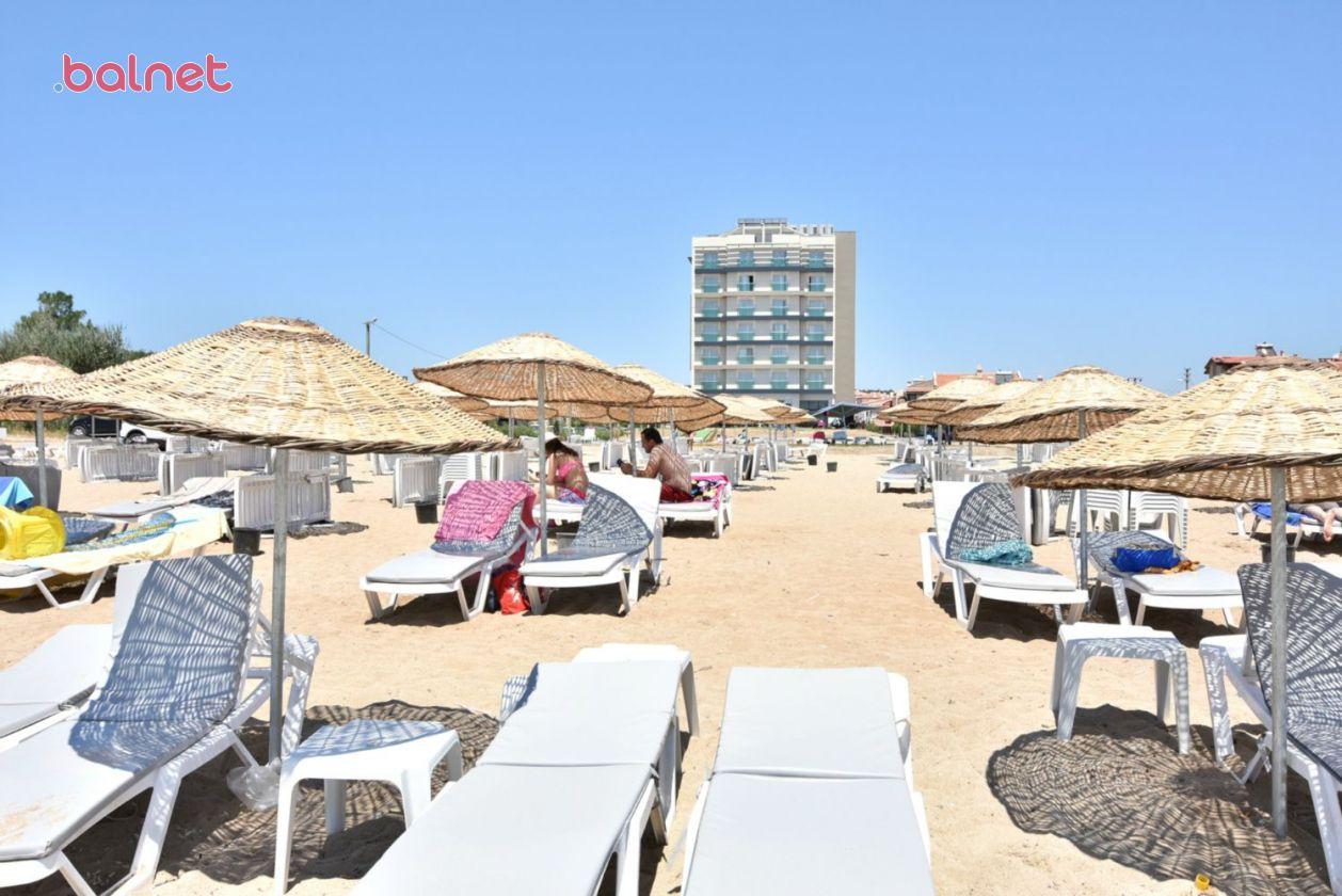 Plajımızdan Otelimiz