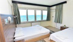 Üç Kişilik Odalarımızdan Deniz Manzarası