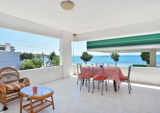 1+1 Deniz Manzaralı Suit Dairemizin Balkonu