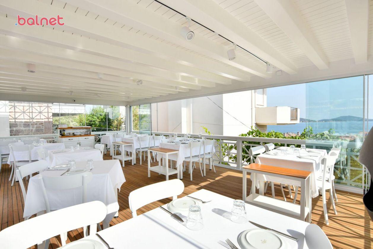 Restaurantımızdan Deniz Manzarası