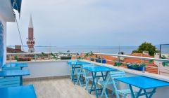 Terasımız ve Deniz Manzarası