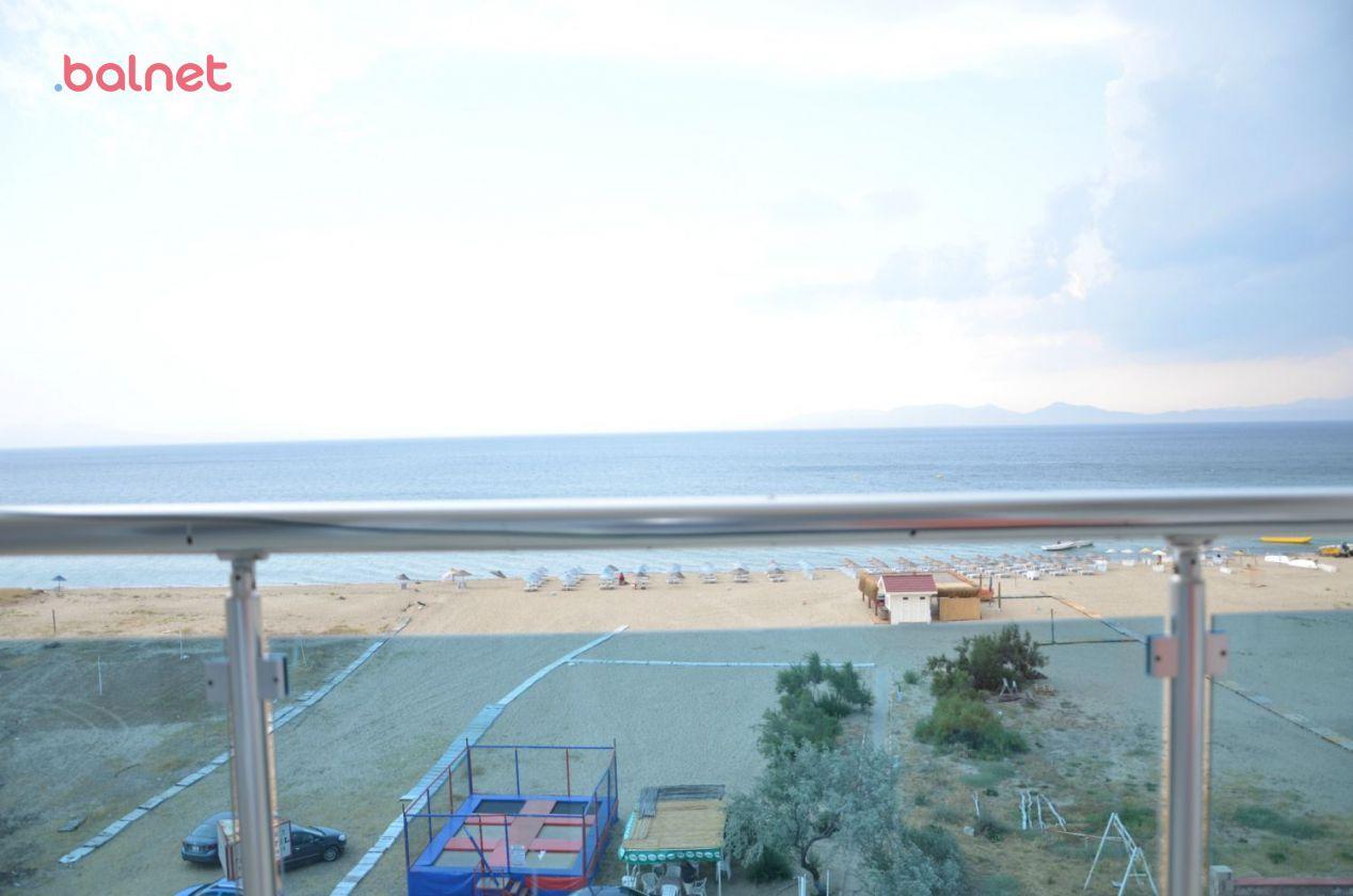 Üç Kişilik Odalarımızın Balkonundan Deniz Manzarası