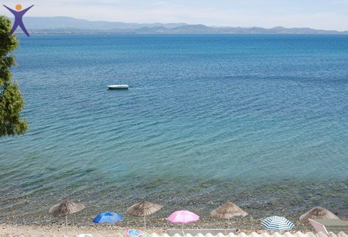 Pansiyonumuzdan Deniz Manzarası