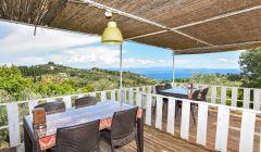 Bahçe Restaurantımız ve Deniz Manzarası