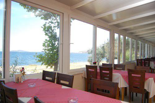 Restauranttan Deniz Manzarası