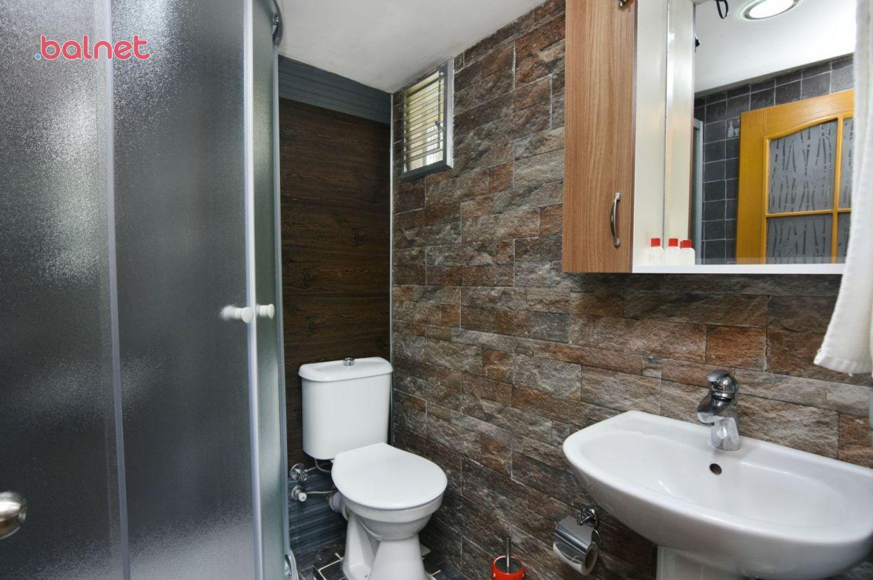 Çift Kişilik Bungalow Odamızın Banyosu