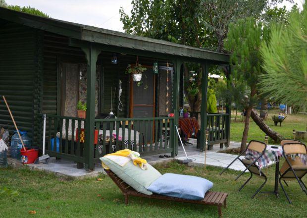 Bungalow Evlerimizin Bahçesi