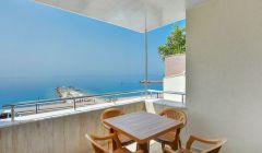 1+1 Deniz Manzaralı Apart Dairemizin Balkonu