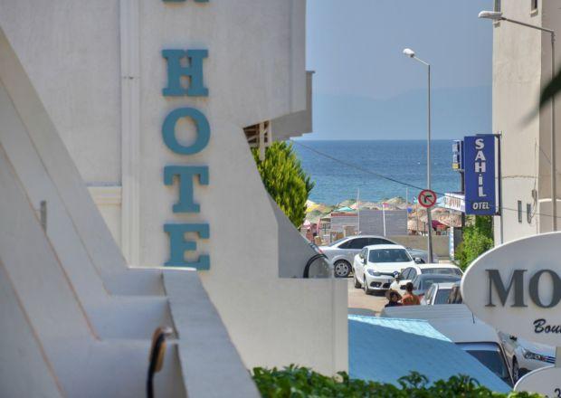 Motelimizden Deniz Manzarası
