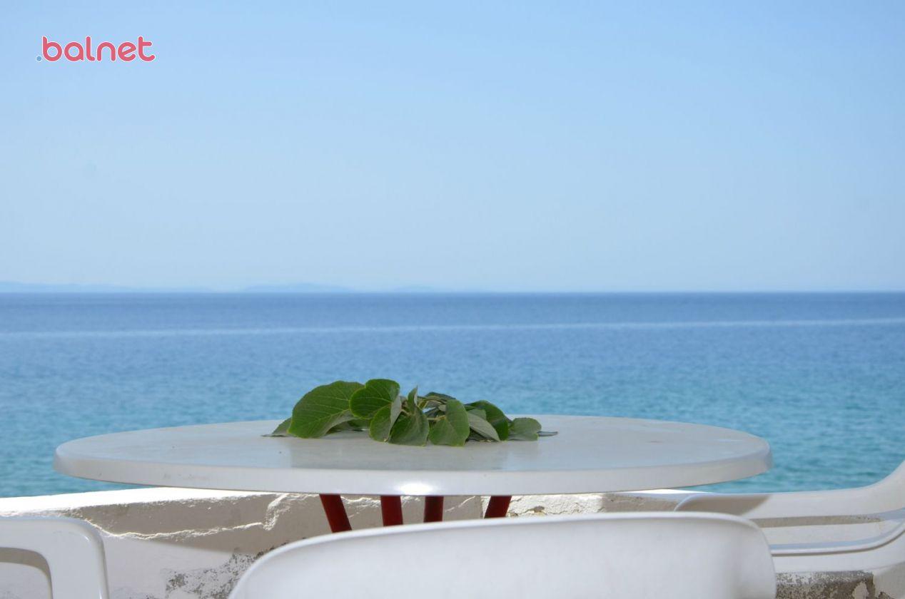 Üç Kişilik Deniz Manzaralı Odalarımızın Balkon Manzarası