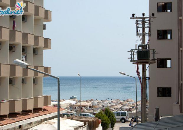 Motelimizden Plaj Manzarası